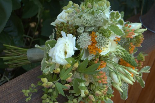 European Floral Deign Bridal Bouquet